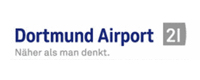 Logo der Flughafen Dortmund GmbH